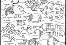 Coloring pages / by Ca Jo
