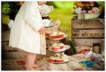 Wedding Colour Theme- Vintage Picnic / by Jack Kelly