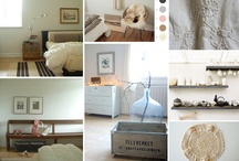 <3 Lovely Moodboards Bedroom <3 / by 22 Vuurvliegjes