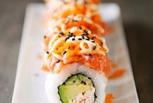 Sushi.. / by Irene Matias