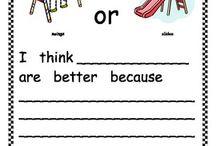 1st Grade Writing / by Krystal Russo