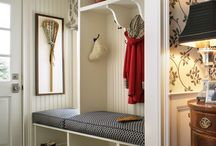 An Organized Home: Mud Room / mudroom inspiration | storage solution for coats and gear / by Julia Ryan | Pawleys Island Posh