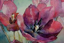 water colors / maybe I will paint this / by Vicki Chamberlain