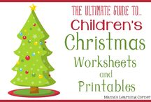 Holiday Worksheets / by Andrea McDaniel