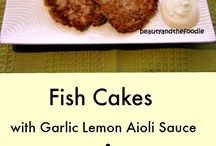 Paleo or low carb fish main dishes / by Jackie Price