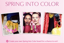 Spring into Color / Fashion / by Steffani Blasse