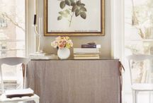 SKIRTED TABLE CONCEPTS / by Chandos Interiors