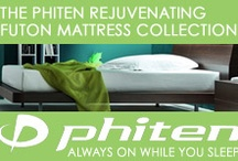 Phiten Organic Mattress Collection  / by The Futon Shop Organic Futons & Mattresses