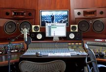 music studio / by Maggie Mesa