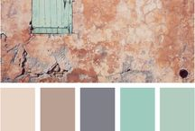 Cool color combos / by Virginia Weaver
