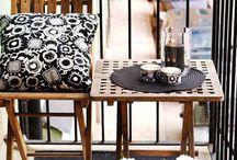 Balcony ideas / by Rosie Quinn