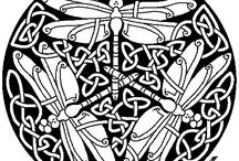Dragonfly zentangle and doodle types / by Jill Smith