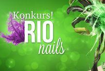 RioNails zgłoszenia konkursowe / by Golden Rose Polska