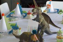 Dino party / by Jennifer James