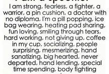 Chronic Illness / Finding humor in chronic illness. / by Anastasia Rose