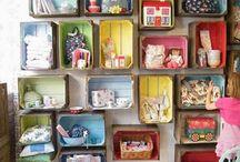 Cajas de madera decoracion / by El Taller de Lo Antiguo