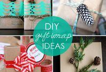 Gift Wrap Ideas / by Dianne Vanessa Alejo