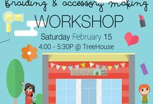 TREEHOUSE Events / Check out the latest events happening at TREEHOUSE! / by TREEHOUSE kid and craft