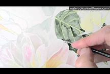 Art - tips and tutorials - flowers / by Lorena Landry