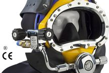 Kirby Morgan Band Masks / Kirby Morgan Band Masks may be used in mixed gas diving as well as shallow water diving. / by Amron International