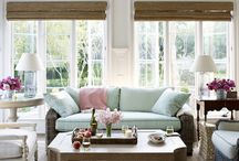 Living and dining rooms inspiration / Living rooms;dining rooms;home decor; interior design / by Irena Carter