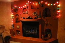 Fireplaces / by Michelle L