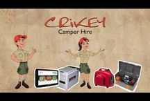 Welcome to Crikey Camper Hire / Learn more about how Crikey Camper Hire can assist you with your next Camping Holiday / by Crikey Camper Hire