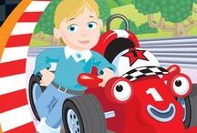 Roary the Racing Car / by Penwizard
