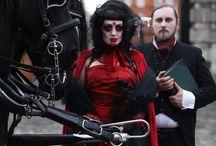 Bram Stoker Festival Promotional Images 2013 / by Bram Stoker Festival Dublin
