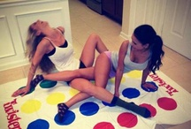 hot girls playing twister / by Crab Diving