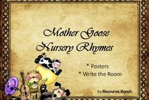 Nursery Rhymes , Fables, and Myths / by Teacher's Notebook