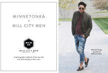 Minnetonka + Mill City Men / A lookbook of the men who live, work and play in their mocs.  http://www.minnetonkamoccasin.com/Lookbook/MillCityMen/2013 / by Minnetonka Moccasin