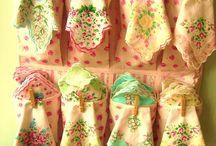 Handkerchiefs ,linen ,sewing machines & Knitting  / by wiganfootie Sue