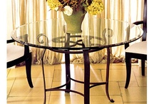Wine N' Dine / Charleston Forge inspired Dining Rooms. Everything you need to wine n dine any guests that enters your home. Enjoy, relax, and, inspire. / by Charleston Forge