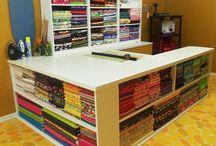 Craft quilt sew studio / by Kathleen G