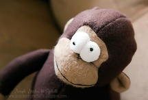 {my stuffed toys} / I love making lots of different sewn items.  Here you will find lots of stuffed animals and other types of toys that I've made. / by Rachelle @ Simple Stitches