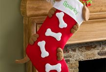 Christmas stockings / by Dawn Costner