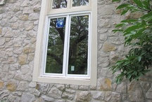 Overland Park Window Replacement / The new Windsor Pinnacle Casement window blends seamlessly with the window above it, as well as the rest of the home. #windsor #window #pinnacle #casement #paintpro #replacementwindow www.windsorwindows.com / by Windsor Windows & Doors