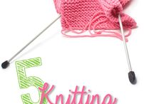 Knitting / by Cook Clean Craft