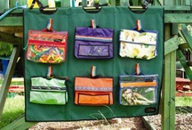 Outdoor Learning / Ideas for storage and activities in the outdoor environment.  / by Stacey Cowell