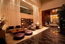 The Lobby Lounge / The Lounge invites you to a retreat with warm colours in a discreet but stimulating atmosphere. / by Park Hyatt Zurich