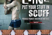 Scuff: C-IN2 Men's Underwear Collection / by C-IN2 Men's Fashion Underwear