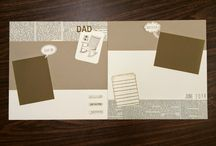 Scrapbook ideas / by Creatin' With Kirsteen: Kirsteen Gill Independent Stampin' Up! Demonstrator