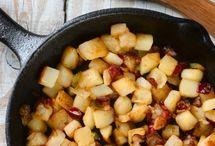 Healthy vegetarian breakfast / by Lisa Means