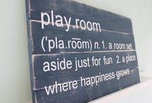 Playroom / by Monkey Mat™, by keen I, LLC