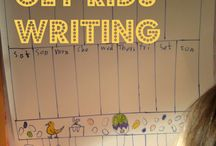 Kids writing / by Ursula Goff