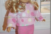 American Girl Patterns! / by Becky Taylor