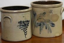 Crocks/Stoneware/Redware / by Pam Pintarelli