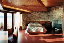 FRANK LLOYD WRIGHT AND SUCH / NATURAL CONTEMPORARY HOMES & DESIGNS / by Karen P
