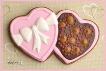 Valentines cookies / by Landon